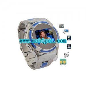 S760 dual sim Quad Band MP3 MP4 Built-in 2GB Memory Card Watch Phone