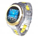 Touch Watch Phone MQ266 Camera Stainless Steel MP3/MP4 Handwriting