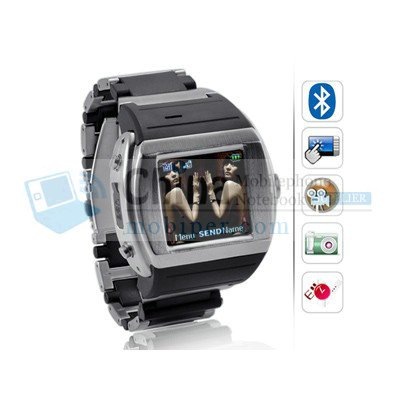 Watch Phones MQ008 Touch Screen FM Handwriting camera