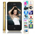 H2000  Android 2.2 3.5 inch Capacitive  Screen Dual SIM  WIFI  Bluetooth A-GPS gold color