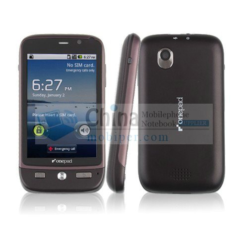 A818 3.5 Inch Capacitive Multi-touch Screen Android 2.2 WIFI GPS Smart Phone 3G GSM+CDMA