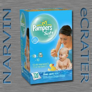 Pampers SoftCare Scented Baby Wipes, 720 Count (Soft Care)