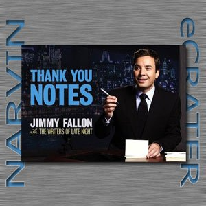 Thank You Notes [Paperback] by Jimmy Fallon and the Writers of Late Night