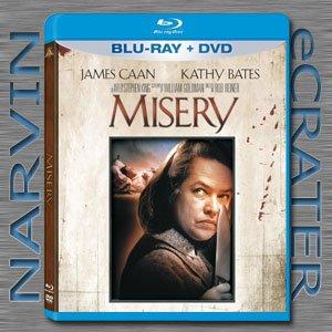 Misery (1990) [Blu-ray + DVD Combo] [2 Discs]