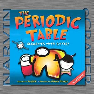 The Periodic Table: Elements with Style! [Paperback] by Adrian Dingle and Simon Basher