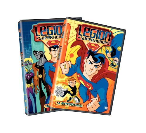 Legion of the Superheroes - Volumes 1&2 (DVD, 2008) -Combined Shipping
