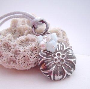 ebb fine silver pendant - inverno