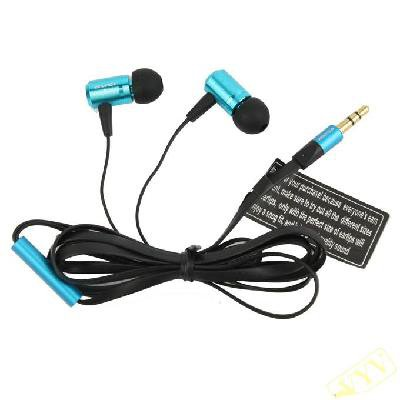 New arrival Awei Earphone Fit For MP3 MP4 PSP Ipod Blue
