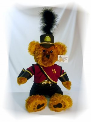 Haddon Heights HS Marching Band Uniform Teddy Bear