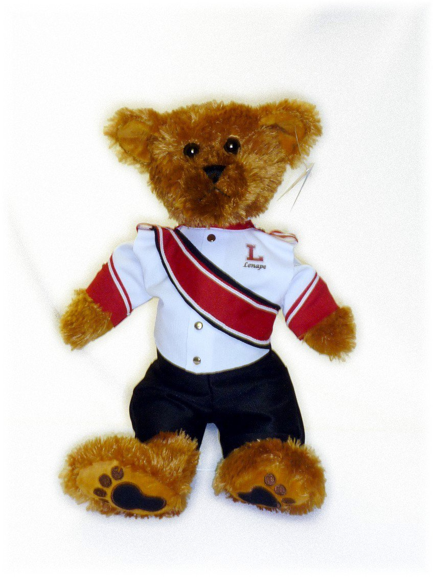 Lenape Regional HS Marching Band Uniform Teddy Bear