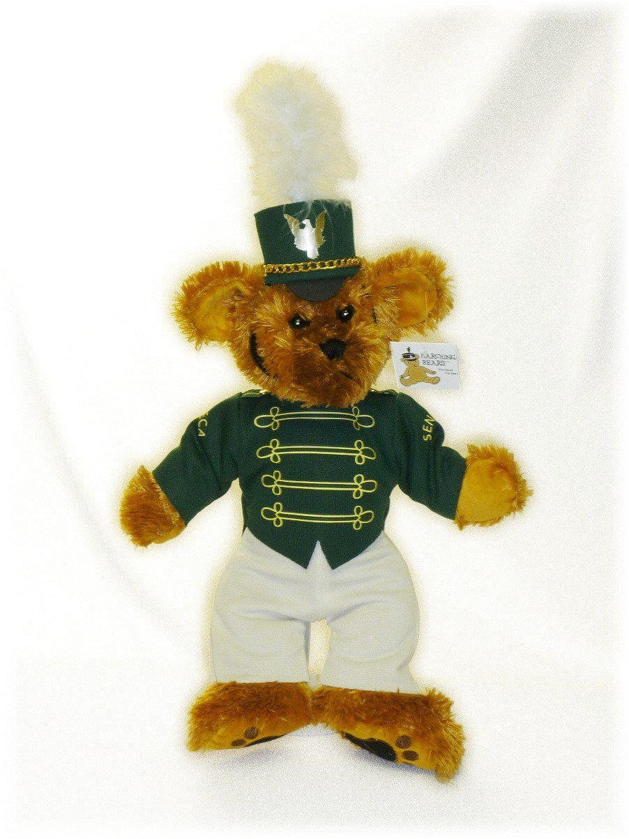 Seneca HS Marching Band Uniform Teddy Bear