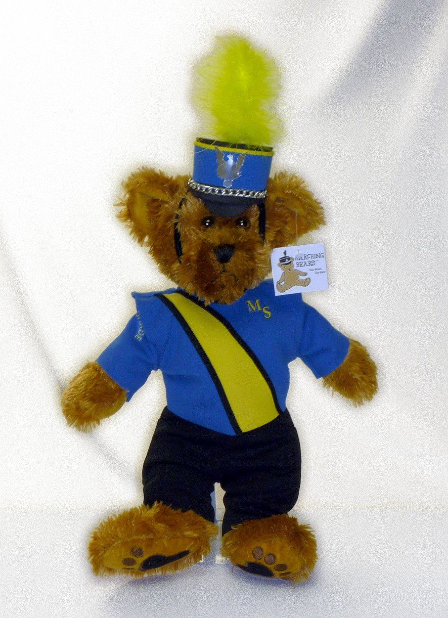 Maple Shade HS Marching Band Uniform Teddy Bear
