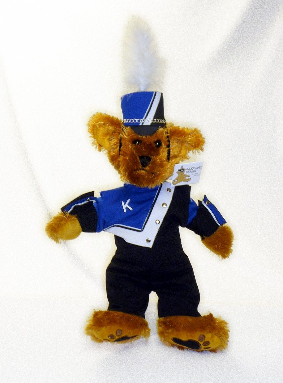 Kennett HS Marching Band Uniform Teddy Bear