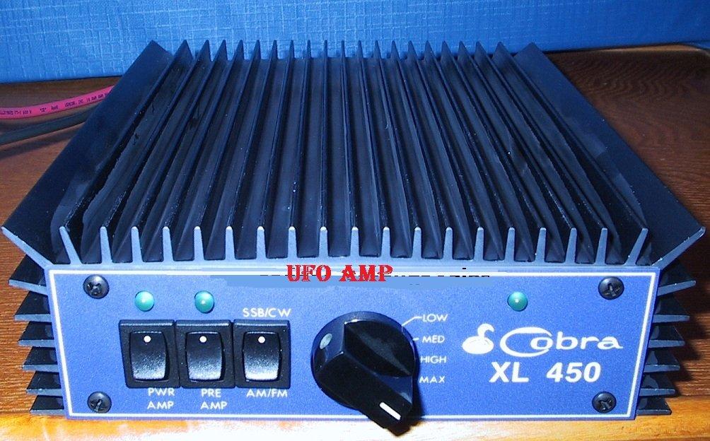 Cobra by Palomar XL 450 UFO Alien Communications Device