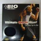Torpedo Mens' Bio Sports Wear Sleeveless Top, Black, Sz M