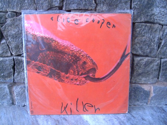 ALICE COOPER Killer LP 1972 HARD ROCK MUITO RARO VINIL