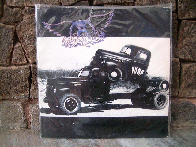 AEROSMITH Pump LP 1989 HARD ROCK VINL