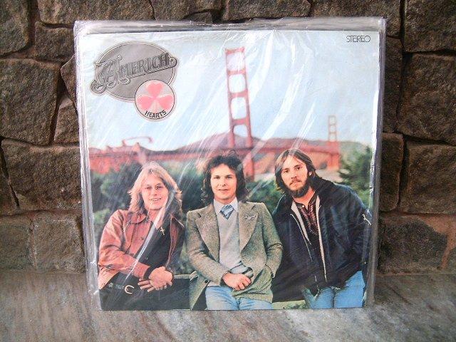 AMERICA Hearts LP 1975 ROCK MUITO RARO VINIL