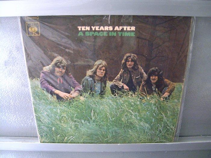 TEN YEARS AFTER Space In Time LP 1971 ORIGINAL MUITO RARO
