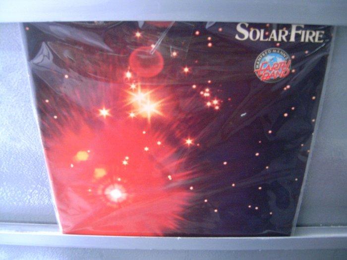 MANFRED MANN Solar Fire LP 1973 ORIGINAL MUITO RARO