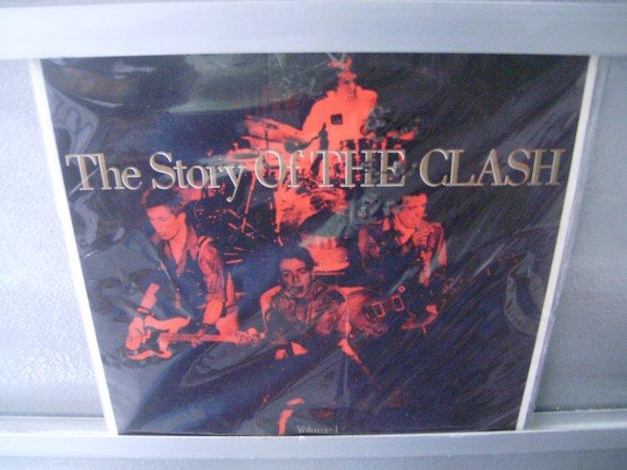 THE CLASH Story Of The Clash 2LP DUPLO  SEMI NOVO PUNK