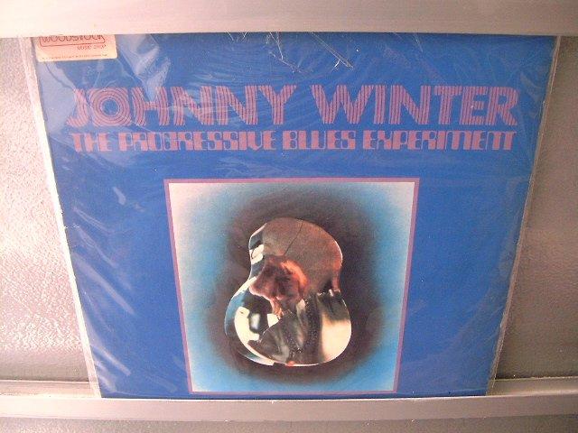 JOHNNY WINTER The Progressive Blues Experiment LP SEMI NOVO MUITO RARO