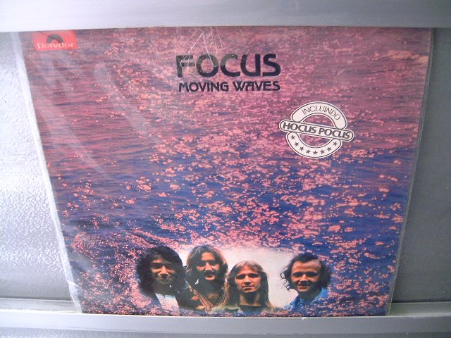 FOCUS Moving Waves LP 1974 MUITO RARO