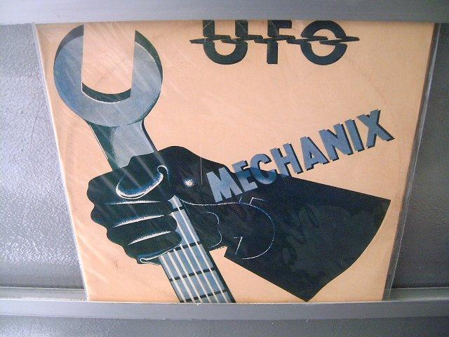 UFO Mecahanix LP 1982 SEMI NOVO MUITO RARO