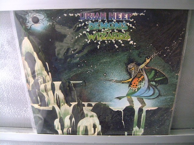 URIAH HEEP Demons And Wizards LP 1973 DAVID BYRON MUITO RARO