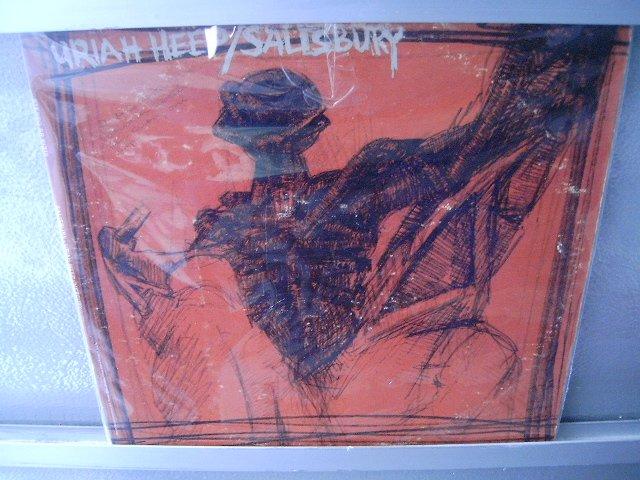 URIAH HEEP Salisbury LP 1970 IMPORTADO ORIGINAL