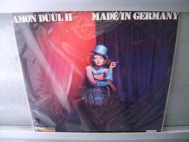 AMON DULL Made In Germany LP 1975 ORIGINAL PROGRESSIVO MUITO RARO