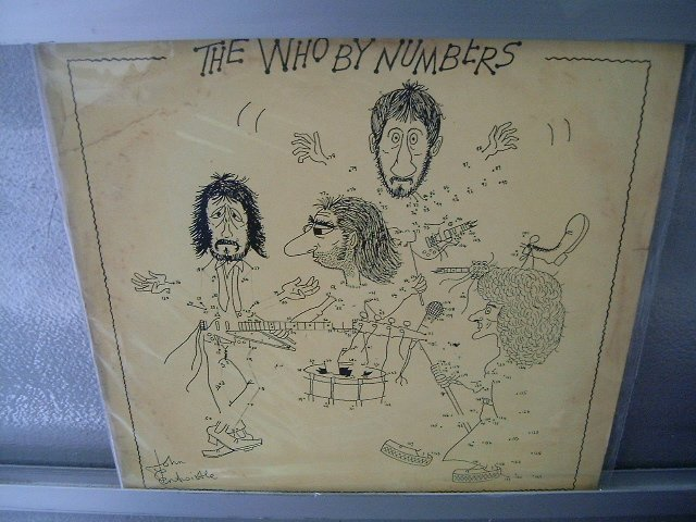 THE WHO By Numbers LP 1975 ORIGINAL MUITO RARO