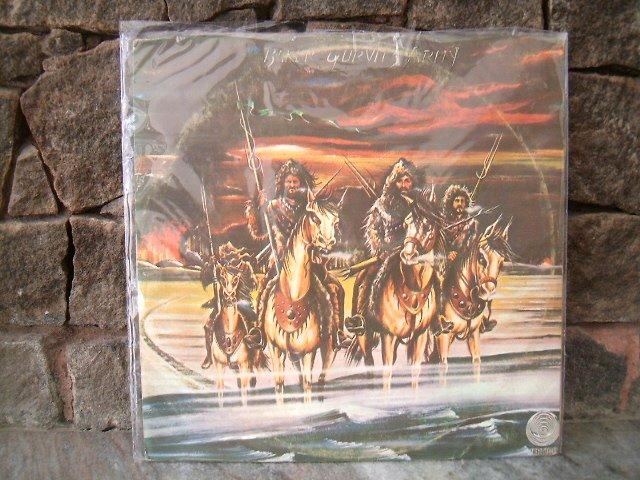 BAKER GUVIRTZ ARMY Baker Guvirtz Army LP 1975 GINGER BAKER CREAM