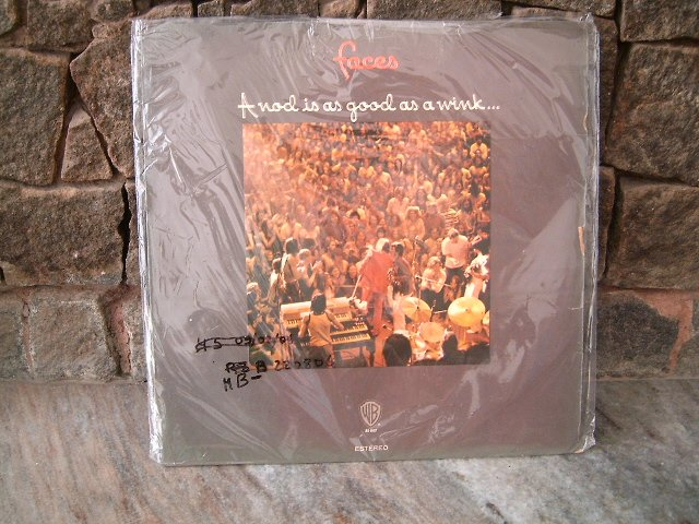 FACES A Nod Is A Good LP 1972 ROCK MUITO RARO