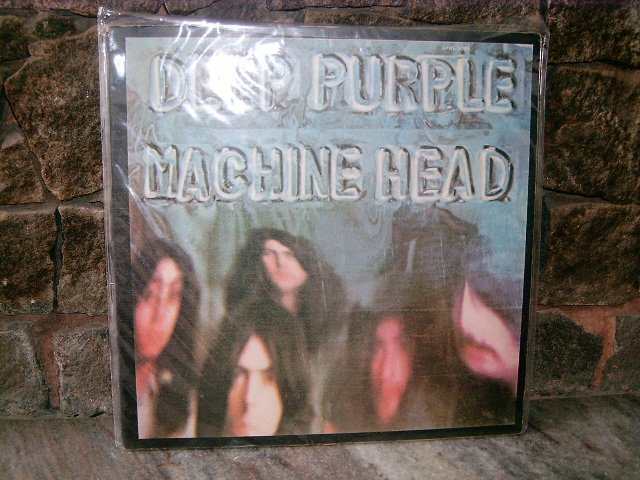 DEEP PURPLE Machine Head LP 1972 HARD ROCK