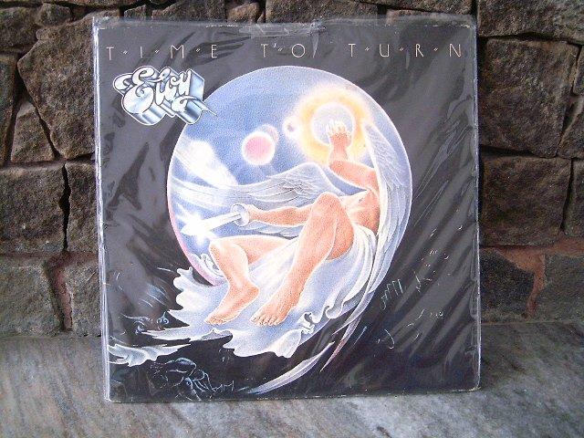 ELOY Time To Turn LP 1983 ROCK PROGRESSIVO MUITO RARO