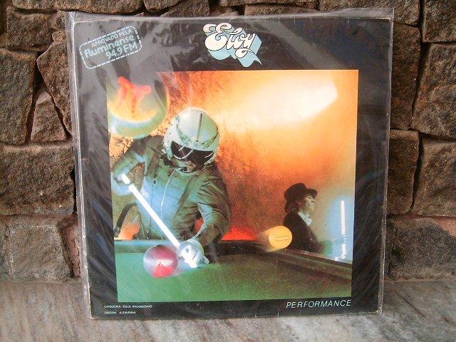 ELOY Performance LP 1983 ROCK PROGRESSIVO MUITO RARO