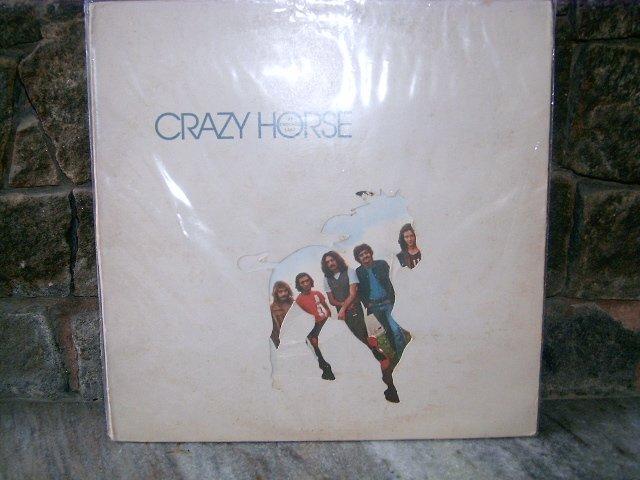 CRAZY HORSE At Crooked Lake LP 1972 ROCK**
