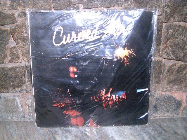 CURVED AIR Live LP 1975 ROCK PROGRESSIVO MUITO RARO