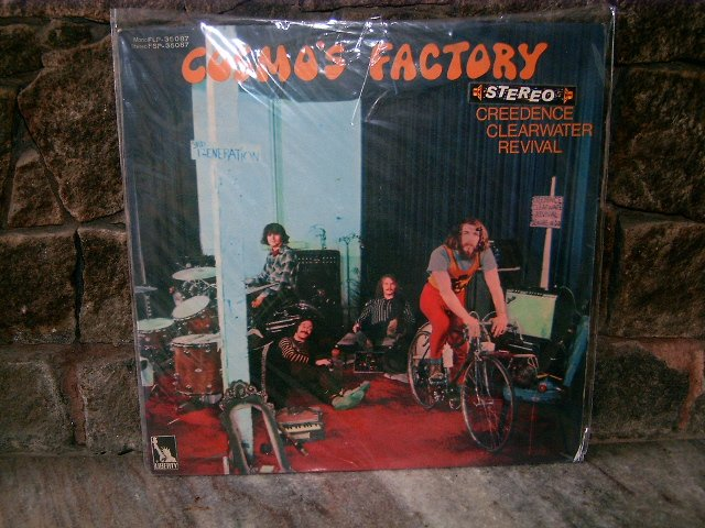 CREEDENCE CLEAWATER REVIVAL Cosmos Factory LP 	1970 ROCK*