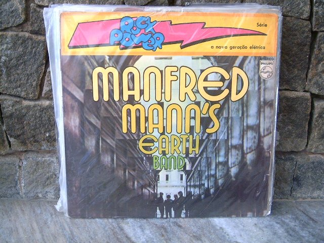 MANFRED MANN'S EARTH BAND Manfred Mans Earth Band LP 1972 HARD ROCK MUITO RARO