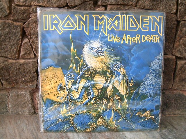 IRON MAIDEN Live After Death 2LP DUPLO 1985 BRUCE DICKINSON