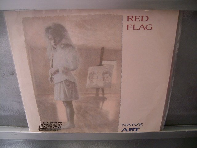 RED FLAG Naive Art LP 1989 EXCELENTE ROCK COM INFLUENCIAS GOTICAS SEMINOVO