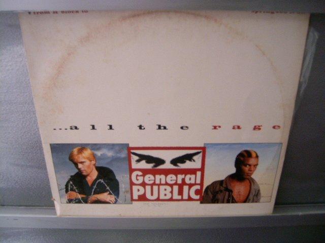 GENERAL PUBLIC All The Rage LP 80s MUITO RARO