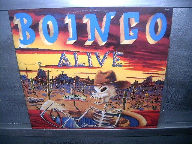 BOINGO ALIVE Oingo Boingo 1989 LP DUPLO 1989 EXCELENTE