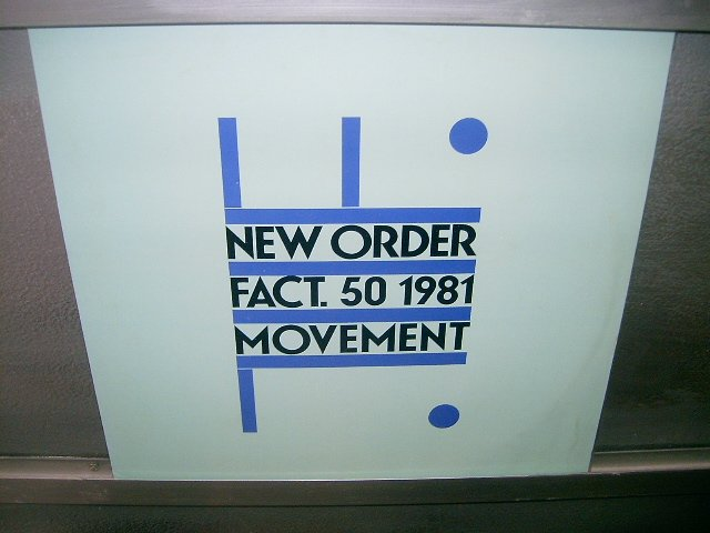 NEW ORDER Movement  LP 1981 POST PUNK*