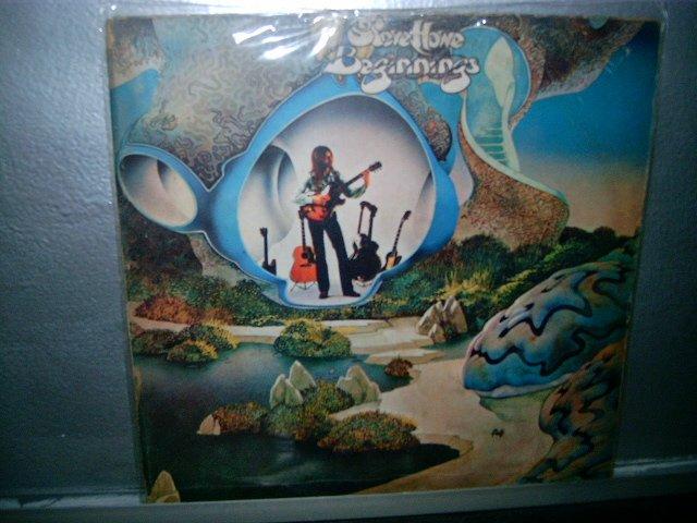 STEVE HOWE beginnings LP 1976 ROCK MUITO RARO VINIL