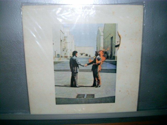 PINK FLOYD wish you were here  LP 1975 ROCK SEMI NOVO BLUE  VINIL
