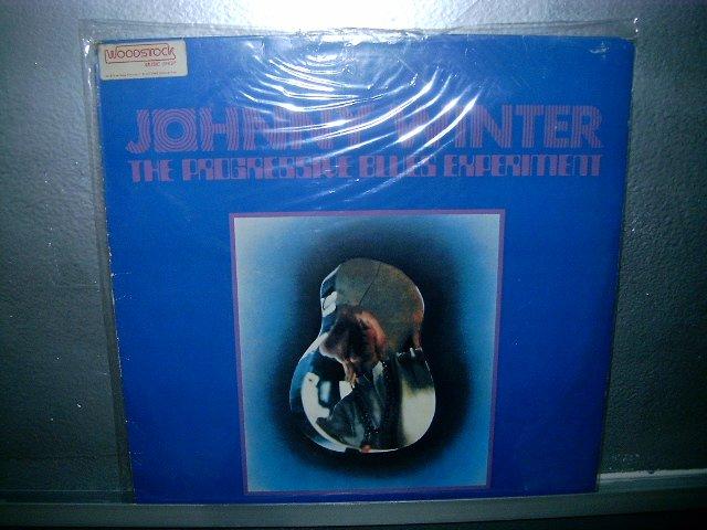 JOHNNY WINTER the progressive blues experiment LP 1969 ROCK SEMI NOVO MUITO RARO VINIL
