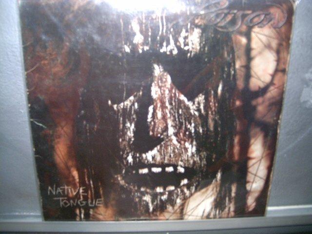 POISON native tongue LP 1993 HARD ROCK SEMI NOVO  VINIL